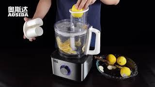 전자동 레몬 슬라이서 감자 양파 채소 오이 만능채칼