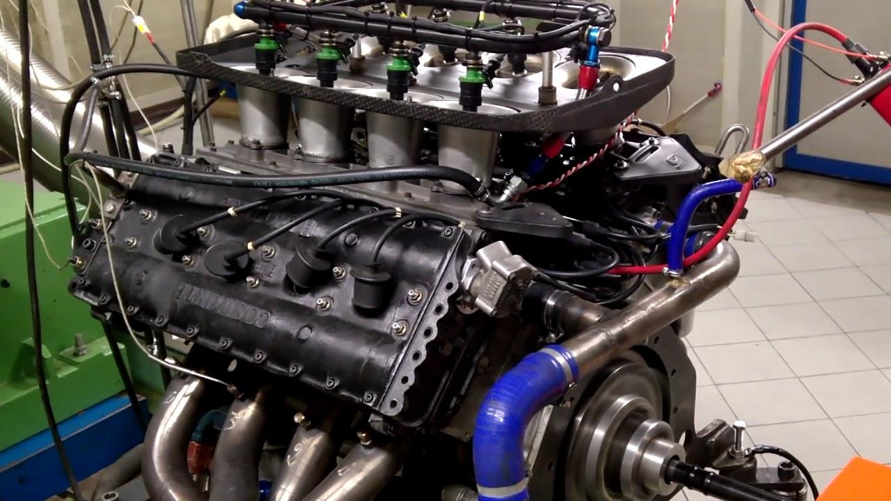 Prova motore al banco: Cosworth DFV V8