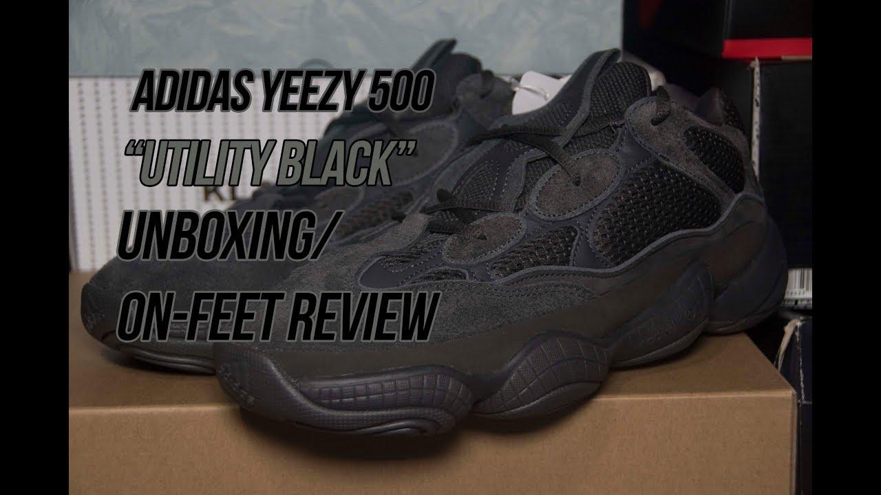 f78fcfd29d8 adidas Yeezy 500  Utility Black
