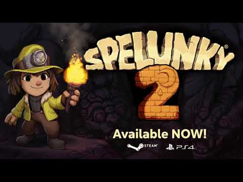 Spelunky 2 - Launch Trailer (Steam and PS4)
