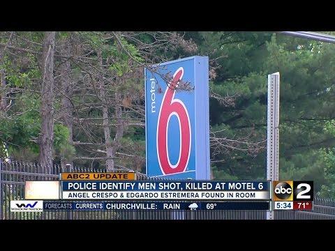Police investigate a double murder in Baltimore Co