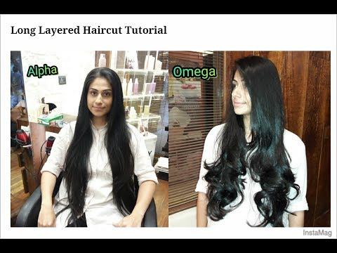 long layered haircut tutorial | steps cutting for long hair | haircut expert by Shyama's Makeover