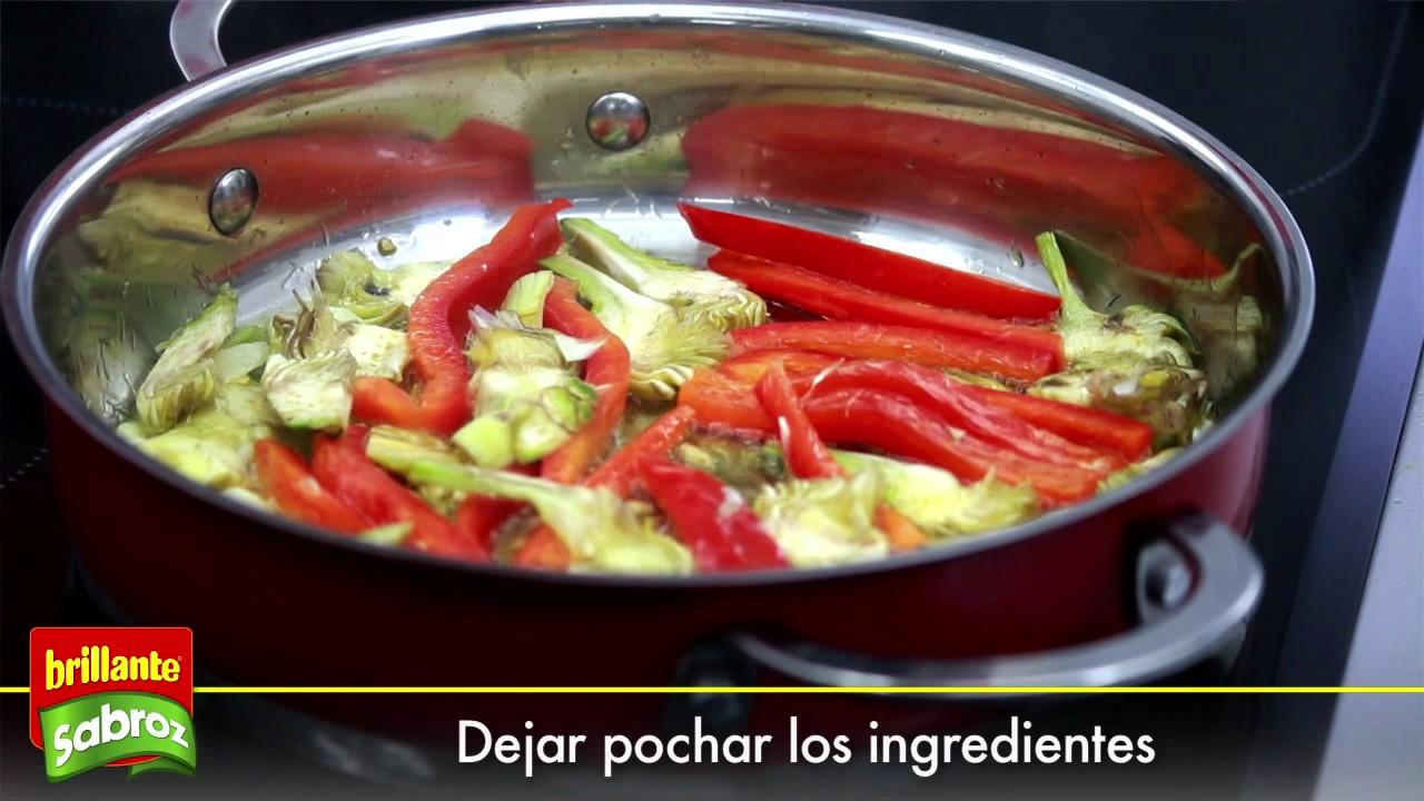 Aprende a cocinar una cazuela de pescado y verduras con for Aprender a cocinar