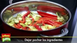 Aprende a cocinar una Cazuela de pescado y verduras con arroz