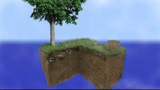 Skyblock - Time lapse | Minecraft vs Reality