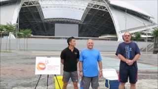 ALS Ice Bucket Challenge (Marcus, Bob and Troy)
