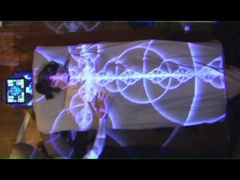 Prototype Gesture Controlled Targeting System for Illuminating Projection Mapped Acupressure Points
