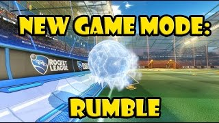 ROCKET LEAGUE RUMBLE ► NEW GAME MODE ► EVERYTHING YOU NEED TO KNOW!