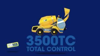 Beton mikseri Carmix 3500 TC Karikatür