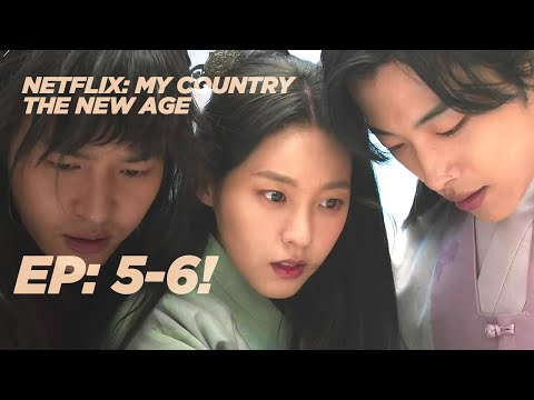 MY COUNTRY Episode 5 and 6 REACTION | Netflix Korean Drama