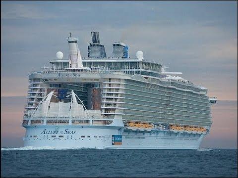 Самый большой круизный лайнер в мире Allure of The Seas. Туры на Карибы
