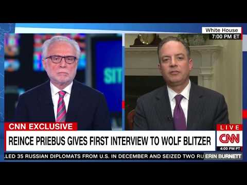 Reince Priebus  interview with Wolf Blitzer