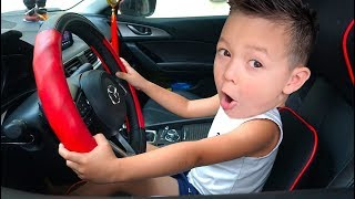 We are in the Car | The Wheels On The Bus Song Nursery Rhymes & Kids Songs