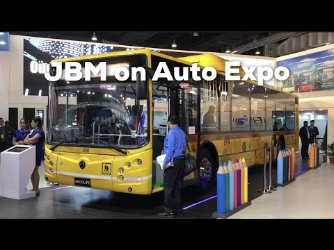 JBM Group at Auto Expo 2018