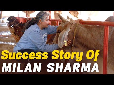 Milan Sharma का Organic Dairy Farm  | Success Story | Must Watch