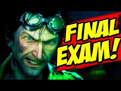 Batman Arkham Knight - Riddler Final Exam / Location of the Remote Electrical Charge Gun