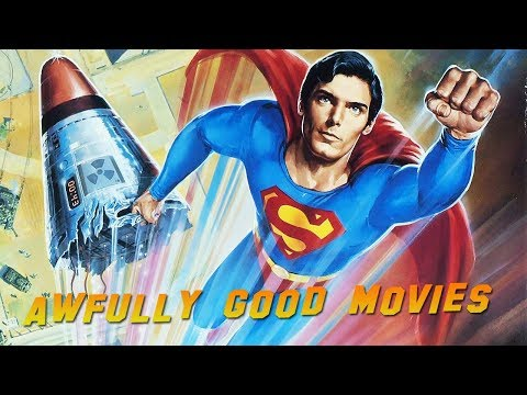 SUPERMAN IV: THE QUEST FOR PEACE - Awfully Good Movies (1987) Christopher Reeve, Gene Hackman