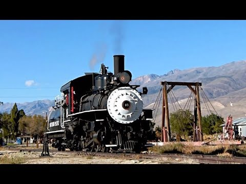 Steam Returns to the Owens Valley - Southern Pacific Narrow Gauge No. 18