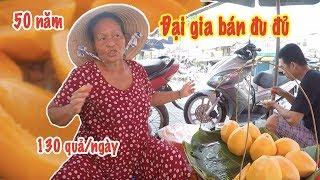 Bá chủ gánh đu đủ 50 năm trên vỉa hè Sài Gòn nhờ cái tính trời phú này