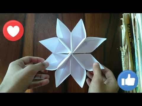 craft khalifa - paper art - crazy flower - paper flower craft