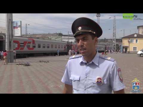 Полицейский спас ребенка на вокзале