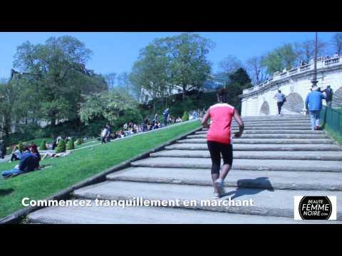 S'entrainer sur des escaliers Sport is Beautiful #9 - Beauté Femme Noire
