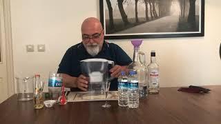 Etil Alkolü Su Arıtma cihazında filitre ederek Rakı yapmak