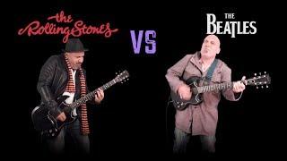 The Rolling Stones VS The Beatles (Guitar Riffs Battle)