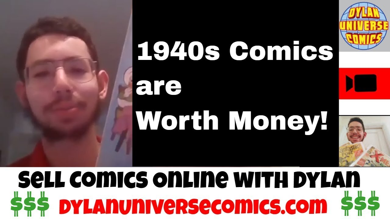 How to Sell your Comic Collection: 1940s Comics are Worth Money!| Sell  Comic Books Online with Dylan