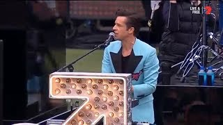 The Killers Pre-game Entertainment At The 2017 AFL Grand Final