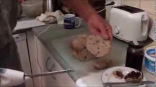 How To Make Cinnamon-raisin French Bread W Psyllium Husk.