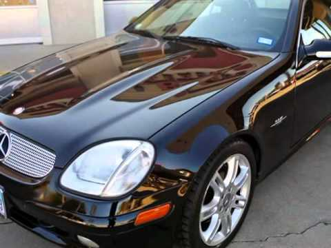 2004 Mercedes Benz SLK320 Special Edition Convertible (Ft ...