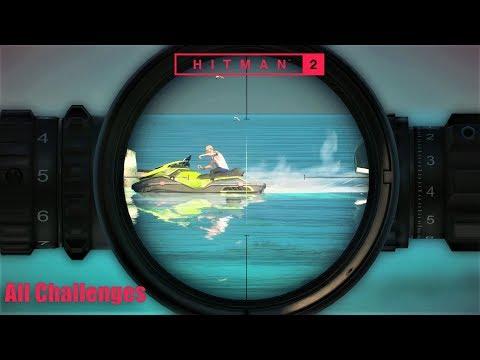 HITMAN 2 - All Epic Challenge Assassination | Haven Island (DLC)