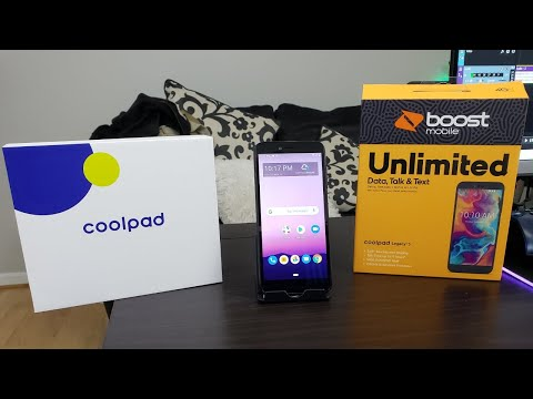 CoolPad Legacy S Unboxing and First Boot Up / Boost Mobile