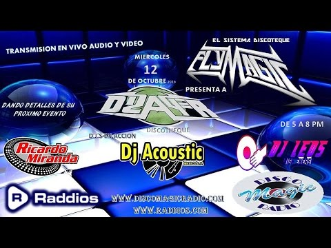 FLY MAGIC PRESENTA DJ ACOUSTIC,DJ RICARDO MIRANDA,DJ LEO NAV