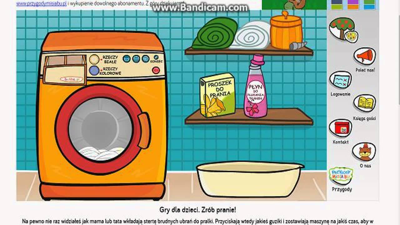 Zagrajmy w gry przeglądarkowe - Zrób pranie - - vimore org
