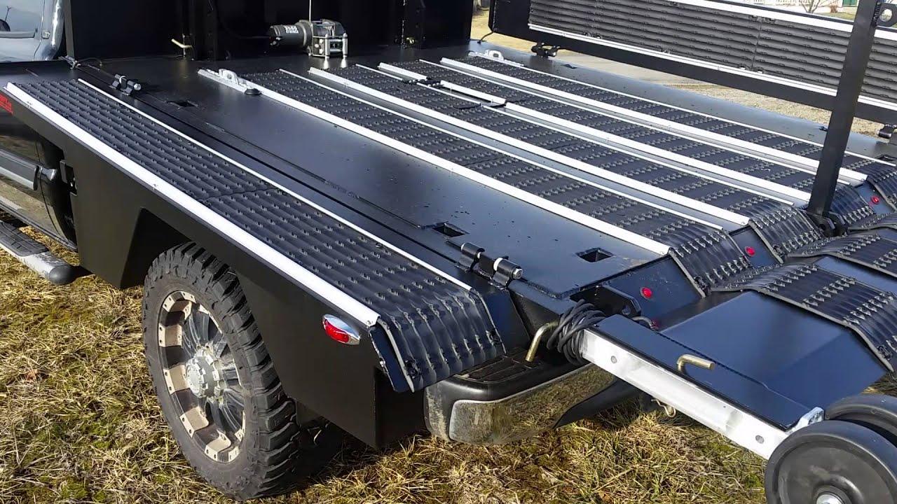 All Pro Trailers >> Sled deck. Hydraulic sled deck. ATV deck. Utv deck. Jet ski deck.flat bed.hydraulic flat bed ...