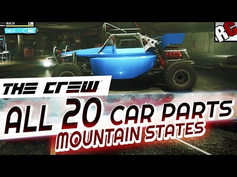 The Crew - All Hidden Car Parts MOUNTAIN STATES - Achievement/Trophy Guide - Buggy Scrap Salvager