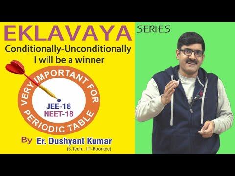 Eklavaya Series I Very Important For Periodic Table I NEET/JEE-2018