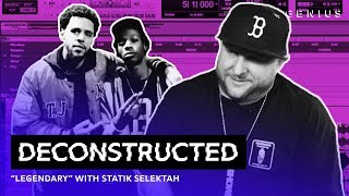 "The Making Of Joey Bada$$ & J. Cole's ""Legendary"" With Statik Selektah 