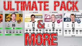 ULTIMATE PACK! - Hunt For F/A Cards! - NHL 17