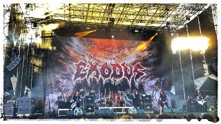 Funeral Hymn + Blood In, Blood Out - Exodus live at Rock The Castle 2018 (Castello Scaligero - VR)