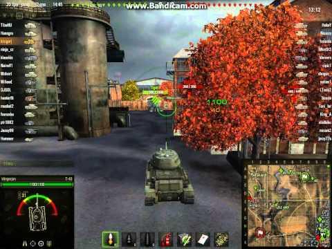 World of Tanks T-43 - DÁLNICE (klinger jan) novy mod