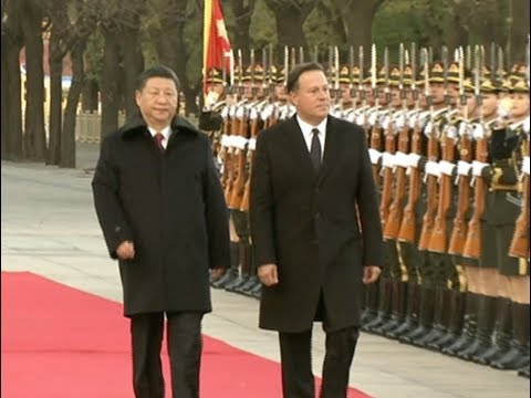 Xi Holds Ceremony to Welcome Visiting Panamanian President