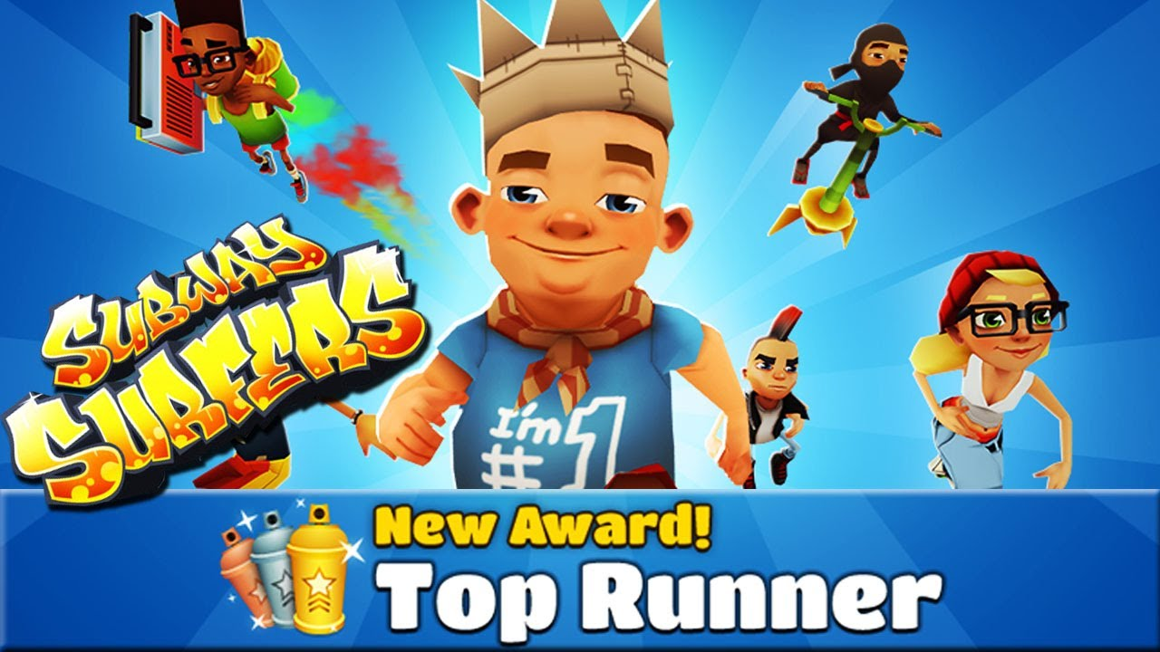subway surfers top runner