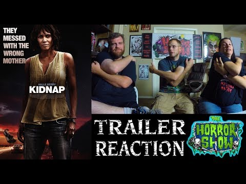 """Kidnap"" 2017 Halle Berry Thriller Trailer Reaction – The Horror Show"