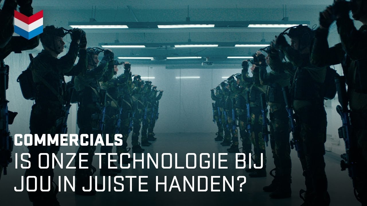 Is onze technologie bij jou in juiste handen? | Defensie commercial 2018