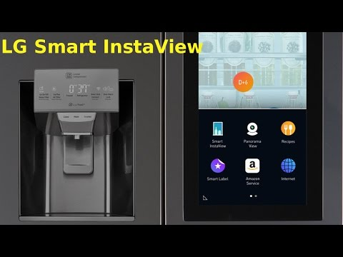 LG unveils Smart InstaView Refrigerator powered by  webOS and Amazon's Alexa | QPT