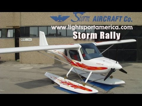 Storm Rally, Storm Aircraft, from LightSport America