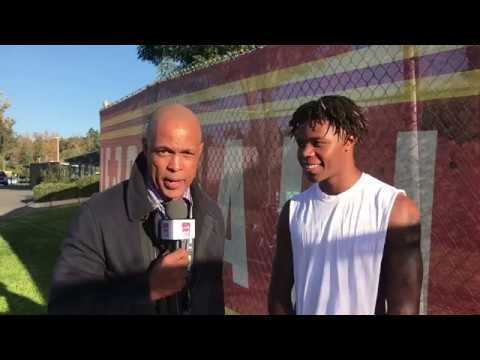 Olaijah Griffin CB/WR MISSION VIEJO INTERVIEW 'INSIDE THE GAME' with David Hill HSPN Sports